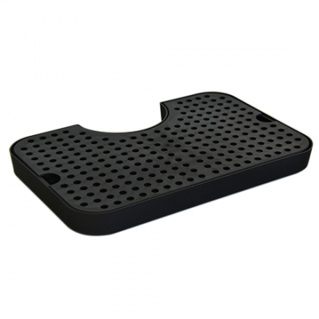24460 – Plastic drip tray with cutout